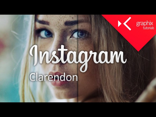 How To Make a Instagram Clarendon Filter Effect - Adobe Photoshop CC 2015 Tutorial - GraphixTV