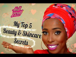 My Top 5 Skincare Beauty Secrets {Ssshhh} women of colour, dark skin, african americans prom
