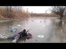 Приколы на рыбалке! Суровый русский биатлон Russian Biathlon