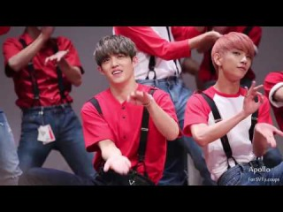 [FANCAM] 160716 SEVENTEEN - Very Nice (S.Coups focus) @ Nuri Dream Square Business Tower Fansign