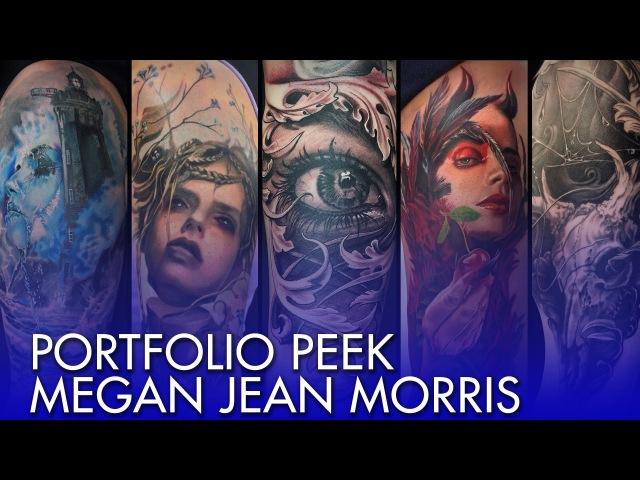 Tattoo Portfolio Peek - Megan Jean Morris