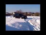 Субару Аутбек тест на снегу