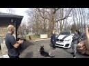 Агрессия на собак, беговая дорожка и ходьба рядом Нью-Джерси США