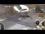 Авария в Махачкале на железнодорожном переезде