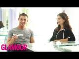 Nick Jonas &amp Emily Ratajkowski Answer Annoying Questions l The Spotlight Glamour