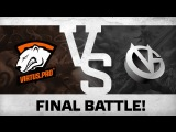 Final battle! by VP vs Vici Gaming  The Shanghai Major