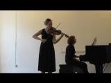 Феликс Мендельсон. Концерт для скрипки с оркестром е-moll, орus 64 (1844), II и III части.
