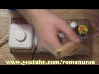 Как сделать регулятор температуры для паяльника своими руками.  How to make a temperature controller
