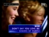 m2m - dont say you love me mtv