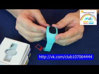 Инструкция на русском к Smart Baby Watch. Установка SIM карты