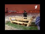 Как Мы отмечали с 1 каналом Праздник Крещения Господня в Петербурге.