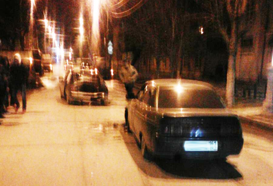 В Таганроге автоледи на «ВАЗ-2103» протаранила «ВАЗ-21124»