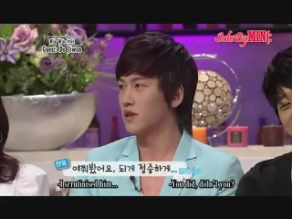[HQ] [MIN] JI Changwook (Donghae) talking about Alex and Singing