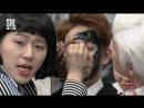 160326 SNL KOREA :: Sanghun and Zico Makeup skills