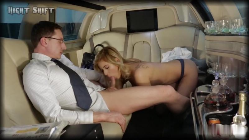 Жесткое порно в лимузине — pic 6