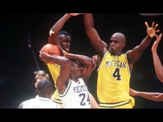 1993 NCAA Basketball National Semi-Final - Kentucky vs Michigan