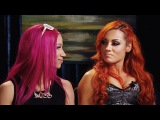 Tempers run high between Sasha Banks and Becky Lynch March 2, 2016