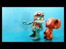 Ceburashka vs. Frog (Clay Crazy Frog)