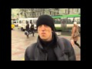Прикол, ржач. Гопник из г.Ровно о ситуации в Украине, о курсе доллара, о ценах на проезд.
