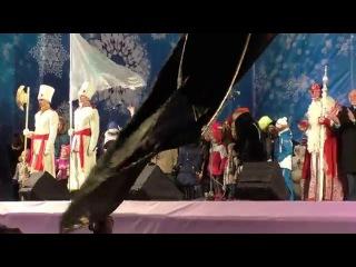 Дед Мороз из Великого Устюга - встреча на Дворцовой площади в Санкт-Петербурге 26 декабря 2015