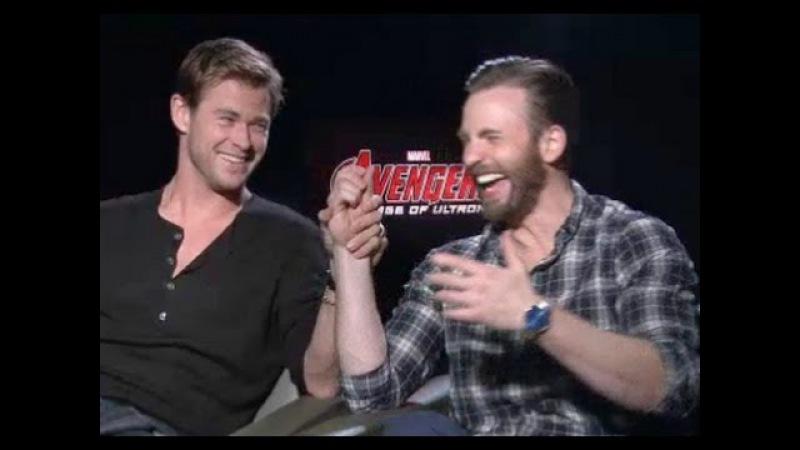 Chris Hemsworth Chris Evans Debate Who's Sexier