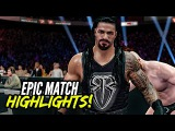 WWE 2K16 TLC 2015 Roman Reigns vs. Sheamus | Epic Match Highlights!