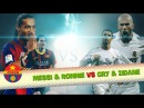 Messi Ronaldinho vs Cristiano Ronaldo Zidane ● Top 10 Goals Battle ● El Clasico Legends