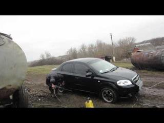 Мойка автомобиля Chevrolet Aveo + мини-мойка Karcher