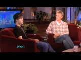 Justin Bieber on Ellen (Sings Teenage Dream, Talks About Bullying &amp Teaches Her How To Dougie)