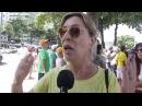 Racismo numa manifestação pró impeachment da Dilma