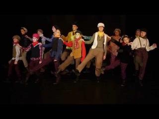 Театр-студия Задверье. Репетиция отрывка из мюзикла Оливер Твист