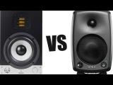 Eve Audio SC205 vs Genelec 8030 (тест звука, обзор студийных мониторов, отзывы)