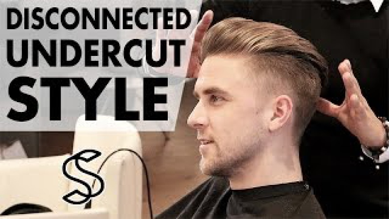 Disconnected Undercut ★ Men's hair styling Inspiration ★ 4k hairstyle