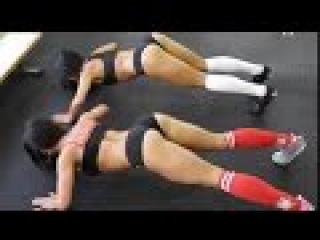 Тренировка для похудения дома. Фитнес для женщин