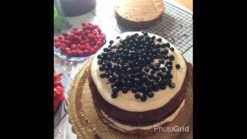 Трам-тарарам И тортик готов😊😉🤗🍰