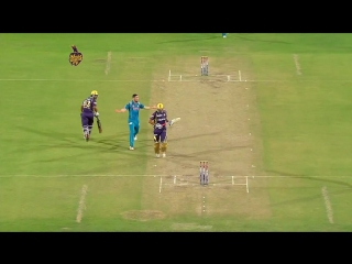 Yusuf Pathan спорная пробежка - аут _ Pepsi IPL 2013 - KKR vs PW, Match 65