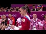 Алия Мустафина.Олимпиада 2012. Брусья. Финал
