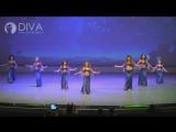 Детский танец живота 8-12 лет от студии DIVA, хореограф Ксения Чурилова