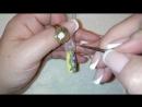 Весенний дизайн ногтей - Тюльпаны - маникюр гель лак - уроки дизайна Донецк