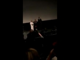 Video of Kristen, Nic,  Drake and Jackie Weaver inside the theater!