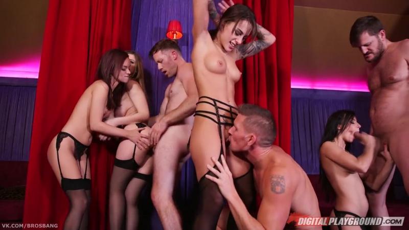 Lea Guerlin, Nikita Bellucci, Sophia Laure, Stella Cox HD porno, group sex, party, orgy, tits, big ass,
