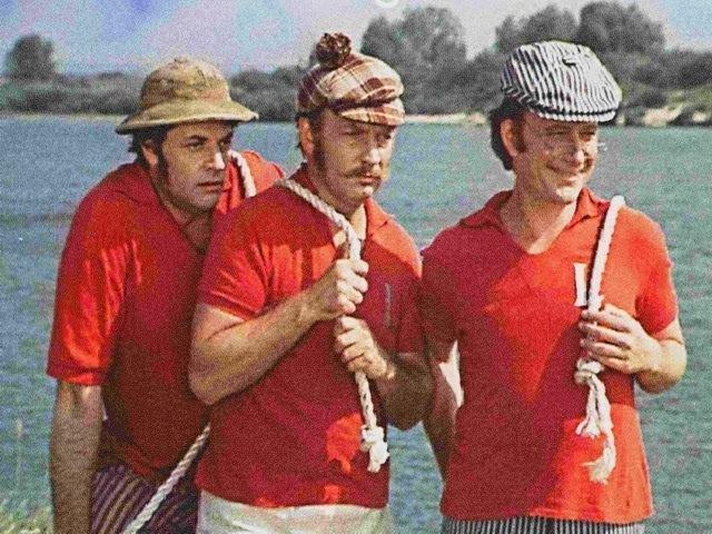 Трое в лодке не считая собаки 2 серия /2