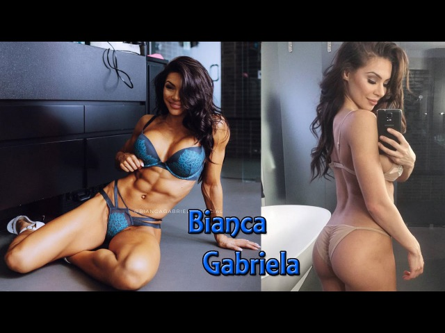 Bianca Gabriela Fitness Model Toned Arms Legs Ab Glutes Motivation