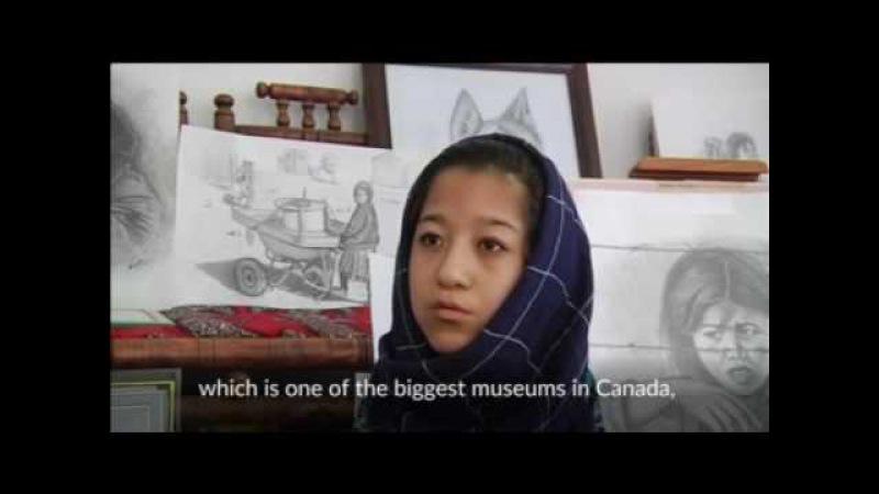 Disabled Afghan girl painter dreams of international fame Reuters com