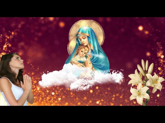 Божественно красивая песня молитва к Пресвятой Богородице