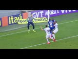 Gol contra de Lucas - Santos 2 x 0 Cruzeiro - Brasileirão 2016