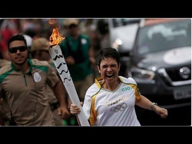 MICOS da Tocha Olimpica rio2016 | Crazy Olympic torch Rio Brazil 2016
