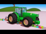 Тракторы для детей все серии подряд. Смотреть мультики про тракторы для малышей