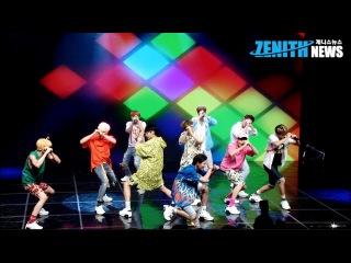 [Z직캠] '업텐션(UP10TION) - ♪ 오늘이 딱이야' 첫 무대(Showcase)