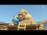 Восставшие из песка. Кинг Конг на днях навестит Казахстан.
